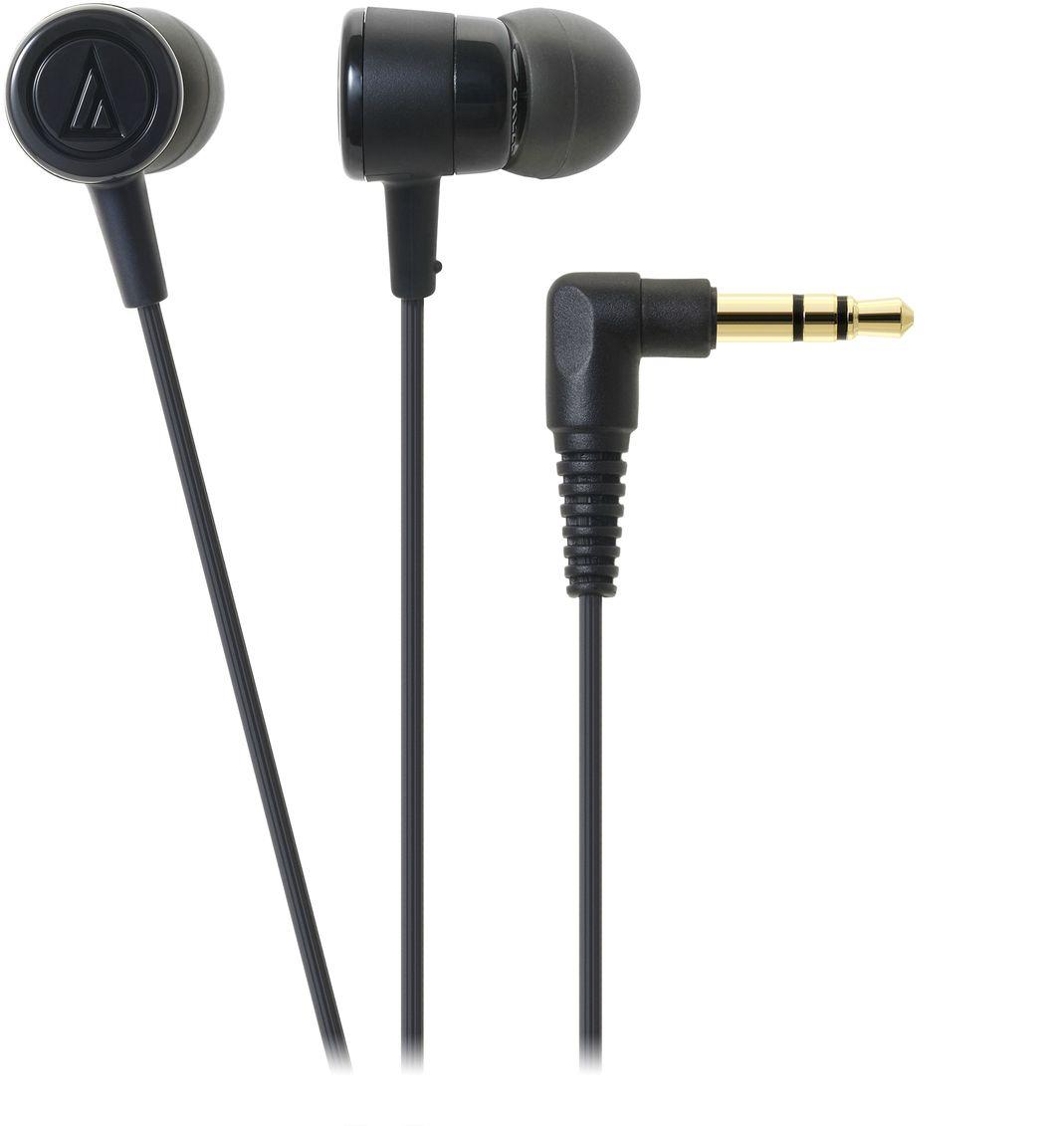 Audio-Technica ATH-CKL220, Black наушники15118395Вставные наушники Audio-Technica ATH-CKL220 являются обновлённой версией модели ATH-CKL202. Это универсальные вставки с пассивной шумоизоляцией, предназначенные для каждодневного использования как с портативной техникой, так и другими устройствами. Драйверы диаметром 8,5 мм обеспечивают качественный звук для всех музыкальных жанров. Эргономичный дизайн вставных амбушюров гарантирует комфортную посадку. Данная модель также имеет кабель с защитой от спутывания, экранировкой от шумов и механически изменяемой длиной натяжения.