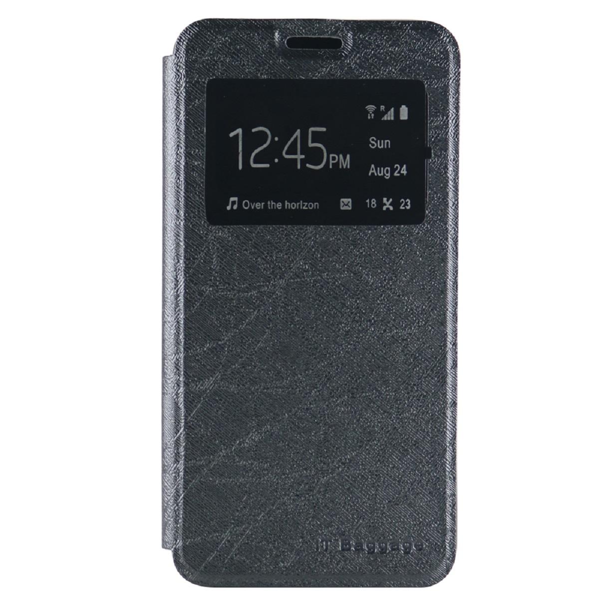 IT Baggage чехол для Meizu M3 Note, BlackITMZM3N-1Чехол IT Baggage для Meizu M3 Note надежно защищает смартфон от случайных ударов и царапин, а также от внешних воздействий, грязи, пыли и брызг. Крышка может использоваться как подставка под устройство. Чехол обеспечивает свободный доступ ко всем функциональным кнопкам смартфона и камере. Окошко на лицевой стороне позволяет просматривать предупреждения, сообщения и время, не доставая телефон из чехла.