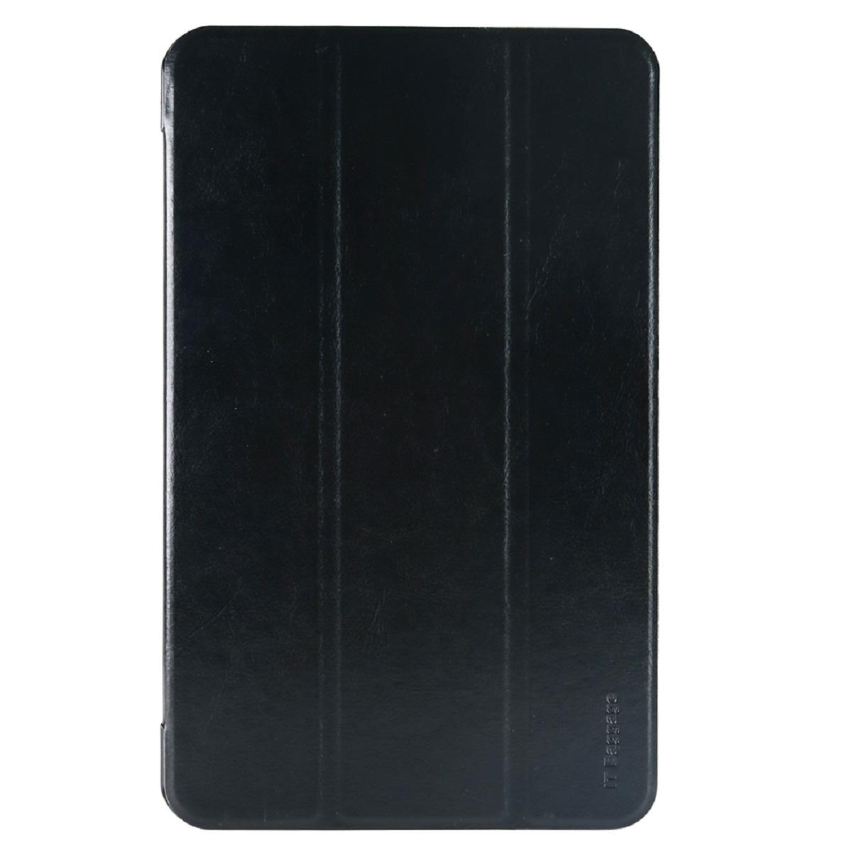 IT Baggage чехол для Samsung Galaxy Tab A 10.1 SM-T580/T585, BlackITSSGTA105-1Чехол IT Baggage для планшета Samsung Galaxy Tab A 10.1 SM-T580/T585 надежно защищает ваше устройство от случайных ударов и царапин, а так же от внешних воздействий, грязи, пыли и брызг. Крышку можно использовать в качестве настольной подставки для вашего устройства. Чехол приятен на ощупь и имеет стильный внешний вид. Он также обеспечивает свободный доступ ко всем функциональным кнопкам планшета и камере.