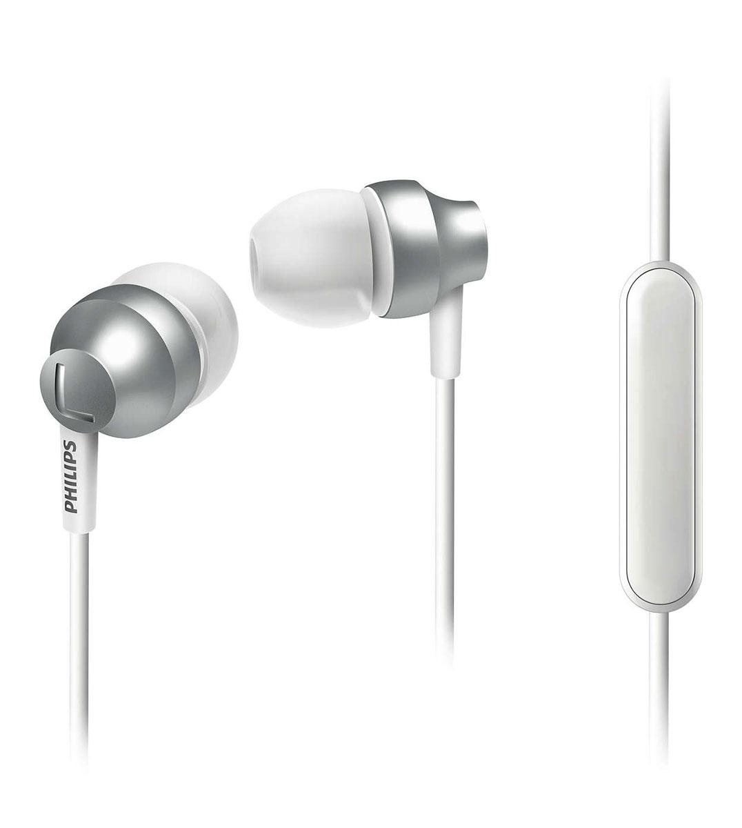 Philips SHE3855SL/00 наушникиSHE3855SL/00Стильные и удобные наушники-вкпадыши Philips Chromz (SHE3855) с превосходным дизайном обеспечивают воспроизведение насыщенных басов. Цвета матовой отделки, выполненной методом вакуумной металлизации, соответствуют цветам iPhone 6s. В комплект входят насадки 3 размеров (маленькие, средние и большие), чтобы вы могли выбрать подходящий вариант для себя. Благодаря встроенному микрофону можно легко переключаться между режимами разговора и прослушивания музыки, чтобы всегда оставаться на связи. Качественная матовая отделка, выполненная методом вакуумной металлизации, обеспечивает дополнительную защиту. Эргономичная овальная звуковая трубка обеспечивает максимально комфортную посадку, подстраиваясь под форму уха. Ультракомпактные наушники с удобной посадкой полностью заполняют ушную раковину и заглушают внешние звуки. Компактные наушники-вкладыши Philips Chromz (SHE3855) с удобной посадкой и мощными...