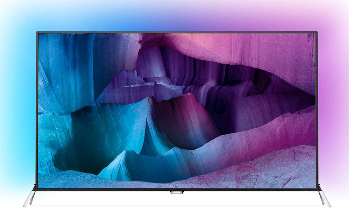 Philips 55PUS7600, Black Silver телевизор