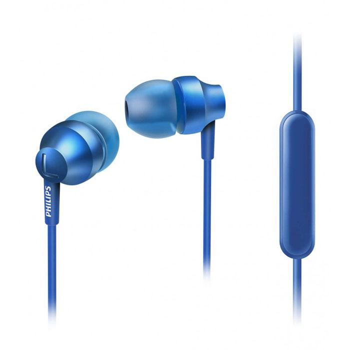 Philips SHE3855BL/01 наушникиSHE3855BL/00Стильные и удобные наушники-вкпадыши Philips Chromz (SHE3855) с превосходным дизайном обеспечивают воспроизведение насыщенных басов. Цвета матовой отделки, выполненной методом вакуумной металлизации, соответствуют цветам iPhone 6s. В комплект входят насадки 3 размеров (маленькие, средние и большие), чтобы вы могли выбрать подходящий вариант для себя. Благодаря встроенному микрофону можно легко переключаться между режимами разговора и прослушивания музыки, чтобы всегда оставаться на связи. Качественная матовая отделка, выполненная методом вакуумной металлизации, обеспечивает дополнительную защиту. Эргономичная овальная звуковая трубка обеспечивает максимально комфортную посадку, подстраиваясь под форму уха. Ультракомпактные наушники с удобной посадкой полностью заполняют ушную раковину и заглушают внешние звуки. Компактные наушники-вкладыши Philips Chromz (SHE3855) с удобной посадкой и мощными излучателями...
