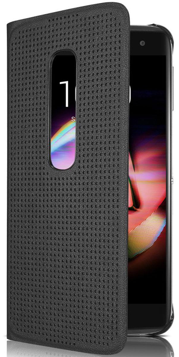 Alcatel MF6070 чехол для Idol 4S (6070K), BlackG6070-3CALMFG-RUЧехол-книжка Alcatel MF6070 обеспечивает надежную защиту корпуса и экрана смартфона Idol 4S (6070K) от механических повреждений и надолго сохраняет его привлекательный внешний вид. Обеспечивает свободный доступ ко всем разъемам и клавишам устройства.