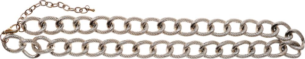 Винтажная цепь-колье Серебряный звон. Бижутерный сплав серебряного тона. США, 1980-е годыКСС1Винтажная цепь-колье Серебряный звон. Бижутерный сплав серебряного тона. США, 1980-е годы. Длина цепи 44 см. + доп.цепочка 6 см. Ширина цепи 1,3 см. Сохранность отличная.