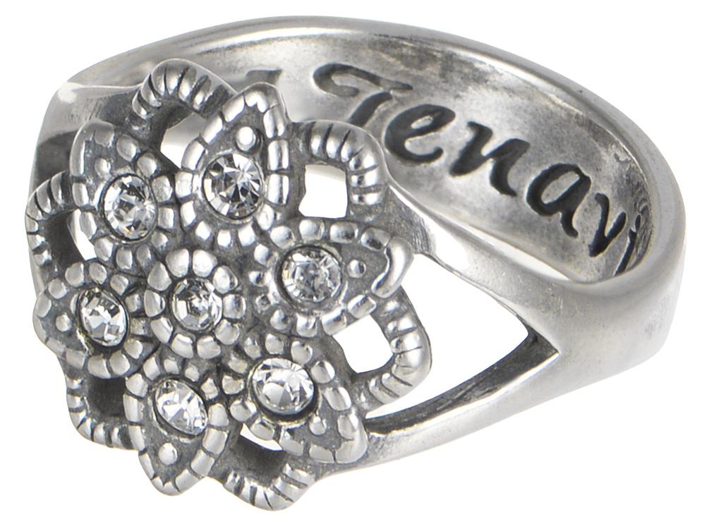 "Кольцо Jenavi ""Marella. Несо"", цвет: серебро. k0023000. Размер 20"