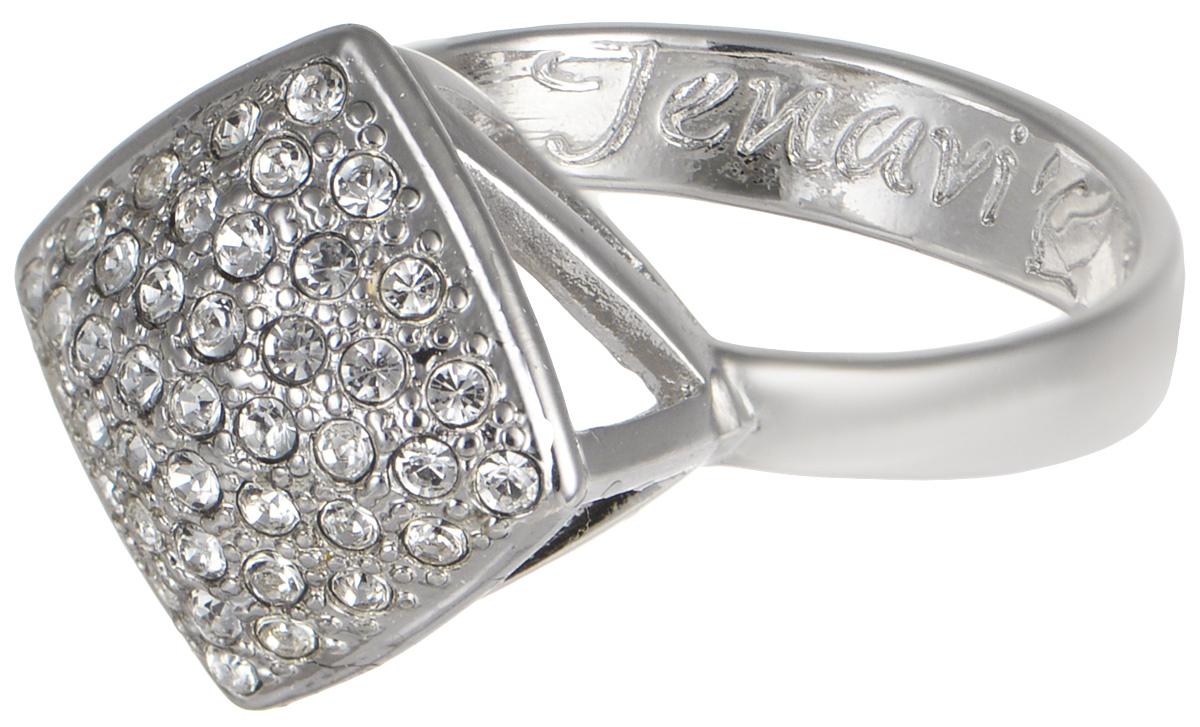 Кольцо Jenavi Мириада. Харди, цвет: серебристый. r632f000. Размер 16r632f000Кольцо Jenavi Харди из коллекции Мириада изготовлено из гипоаллергенного ювелирного сплава с покрытием родием и украшено яркими кристаллами Swarovski. Это кольцо никогда не затеряется среди других ваших украшений, ведь сверкающие кристаллы Swarovski и покрытие из настоящего родия выглядят роскошно и очень дорого. Кроме того, его изысканный дизайн так выгодно подчеркивает достоинства кристаллов, что они не уступают своей красотой драгоценным камням. В новой коллекции Мириада - бесчисленное количество кристаллов Swarovski разных размеров, цветов и оттенков. Они вдохновляют - на романтическое настроение, на смелые поступки, на позитивные эмоции. Они придают новое толкование всем известной истины - красоты никогда не бывает много! Мириада от Jenavi - удовольствие, которое может длиться вечно.