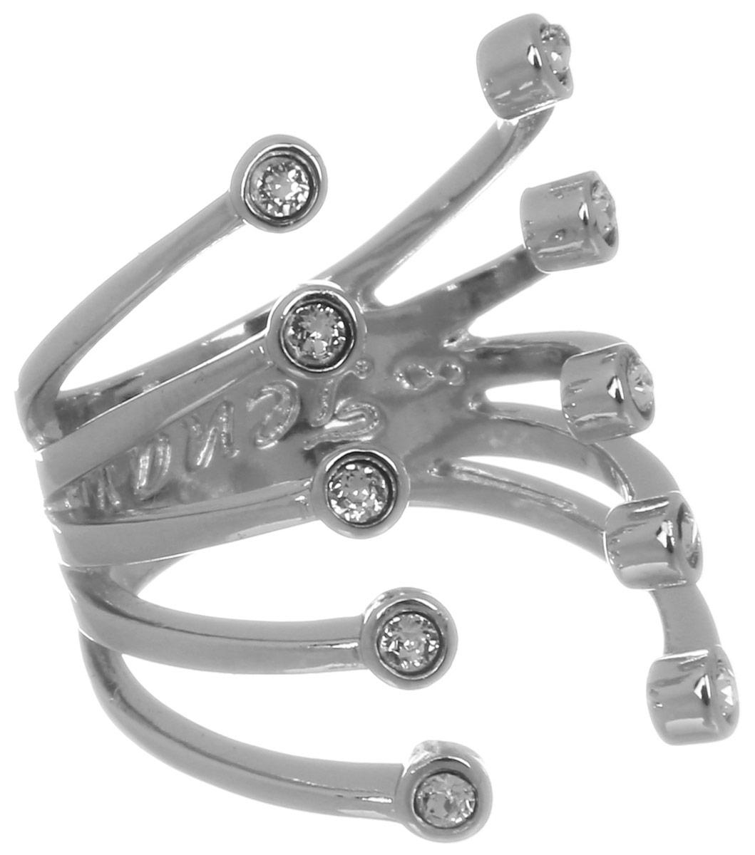 Jenavi, Коллекция Триада, Пурина (Кольцо), цвет - серебряный, белый, размер - 20f694f000Коллекция Триада, Пурина (Кольцо) гипоаллергенный ювелирный сплав,Серебрение c род. , вставка Кристаллы Swarovski , цвет - серебряный, белый, размер - 20