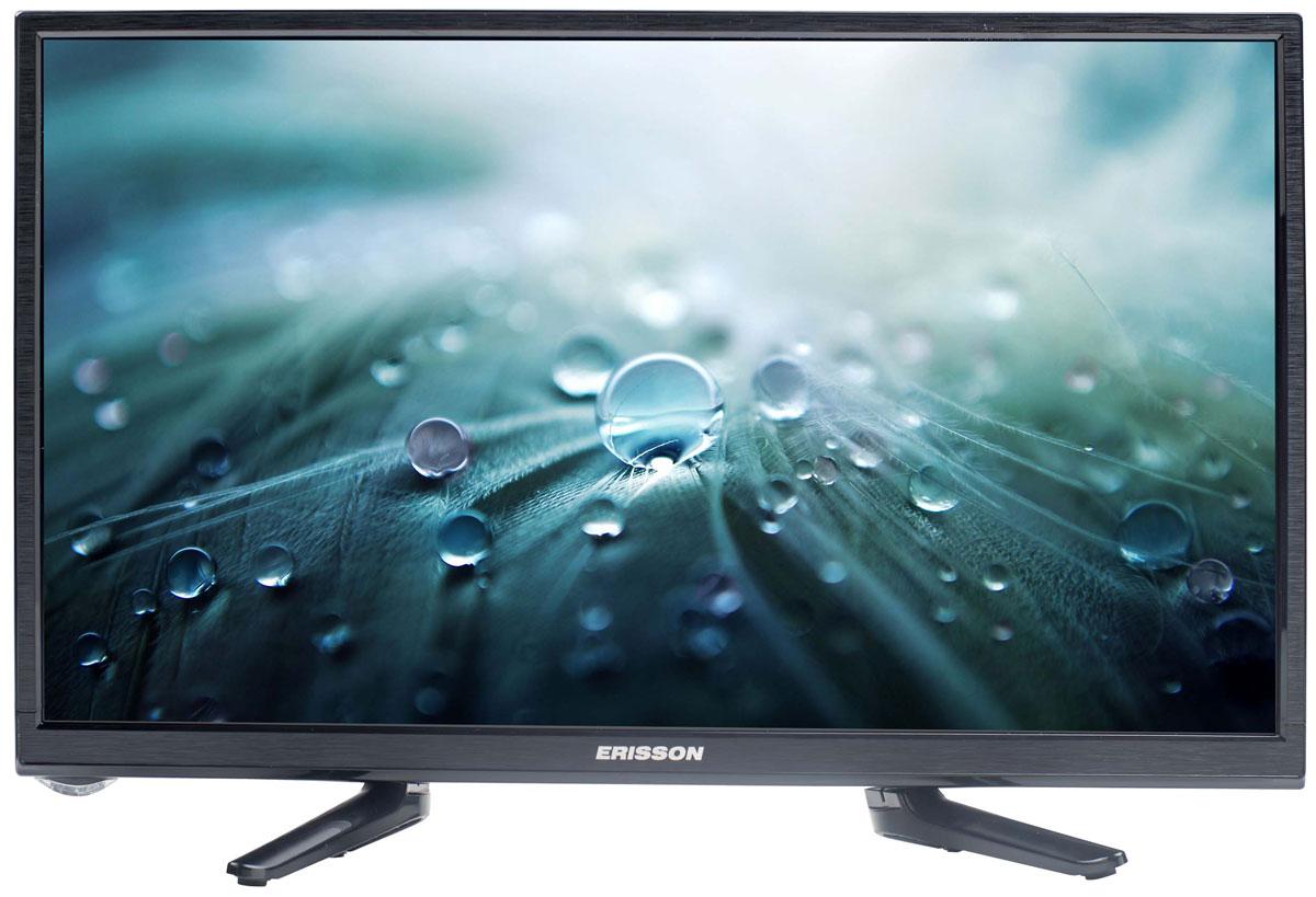 Erisson 19 LES 16 телевизор19LES16Телевизор Erisson 19LES16 с насыщенной цветопередачей изображения на экране с разрешением HD и широкими углами обзора. Источником сигнала для качественной реалистичной картинки служат не только кабельные эфирные каналы, но и любые записи с внешних носителей, благодаря универсальному встроенному USB медиаплееру.