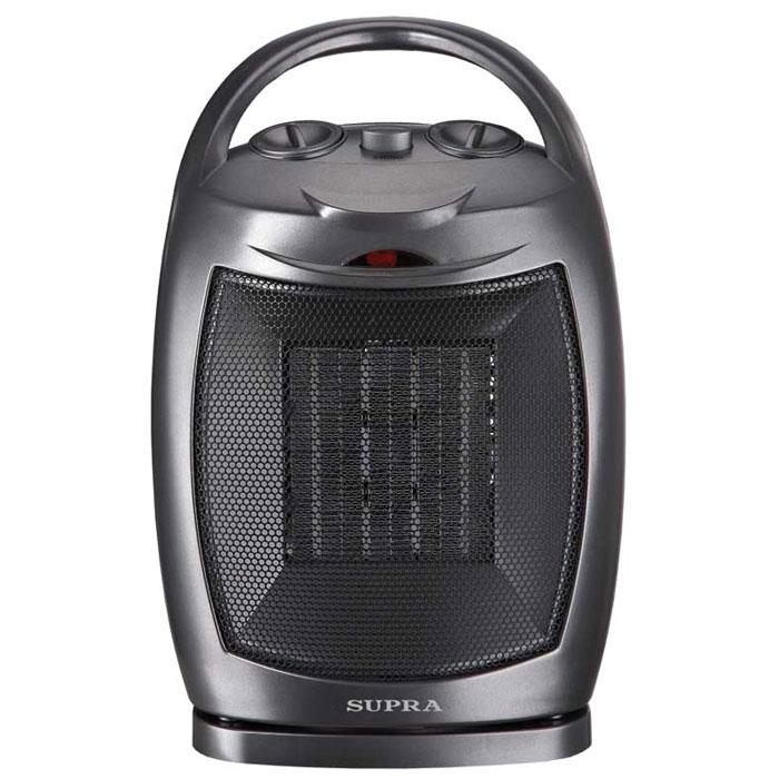 Supra TVS-15PS, Black тепловентиляторTVS-15PS blackКерамический тепловентилятор Supra TVS-15PS предназначен для быстрого нагрева воздуха в помещениях. Прибор отличается компактностью, мобильностью и безопасностью. Оборудован простой и удобной панелью управления. Тепловентилятор может работать в 3 режимах: холодный, теплый и горячий воздух.