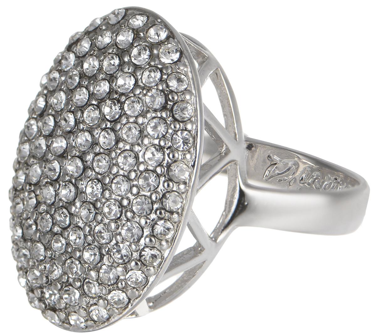 Кольцо Jenavi Мириада. Гросс, цвет: серебро. r633f000. Размер 17r633f000Кольцо Jenavi Гросс из коллекции Мириада изготовлено из гипоаллергенного ювелирного сплава с покрытием родием и украшено яркими кристаллами Swarovski. Это кольцо никогда не затеряется среди других ваших украшений, ведь сверкающие кристаллы Swarovski и покрытие из настоящего родия выглядят роскошно и очень дорого. Кроме того, его изысканный дизайн так выгодно подчеркивает достоинства кристаллов, что они не уступают своей красотой драгоценным камням. В новой коллекции Мириада - бесчисленное количество кристаллов Swarovski разных размеров, цветов и оттенков. Они вдохновляют - на романтическое настроение, на смелые поступки, на позитивные эмоции. Они придают новое толкование всем известной истины - красоты никогда не бывает много! Мириада от Jenavi - удовольствие, которое может длиться вечно.