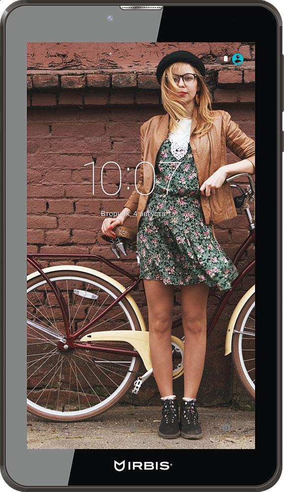 Irbis TZ44, BlackTZ44Irbis TZ44 – идеальное устройство для повседневного пользования. Экран размером 7 дюймов позволяет носить планшет с собой. Легкий, компактный, он не займет много места. Матрица IPS обеспечивает идеальные цвета и четкое изображение. Wi-Fi и 3G-доступ обеспечат вам всегда хорошую связь. Два слота для сим-карты, качественная камера и наличие FM-радио сделают работу с TZ44 максимально удобной и комфортной. Экран IPS с диагональю 7 имеет разрешение 1024х600 пикселей и поддерживает несколько одновременных касаний. Клавиатура сенсорного типа, поддерживает раскладку типа QWERTY и в целом может настраиваться пользователем под себя. С помощью тыловой камеры 2 Мпикс можно делать фотографии приемлемого качества. Фронтальная камера 0,3 Мпикс предназначена для видеосвязи и селфи. Данная модель может воспроизводить практически любые существующие цифровые форматы фото, видео и музыки. А хранить их очень удобно на карте памяти microSD объемом до 32 ГБ. ...