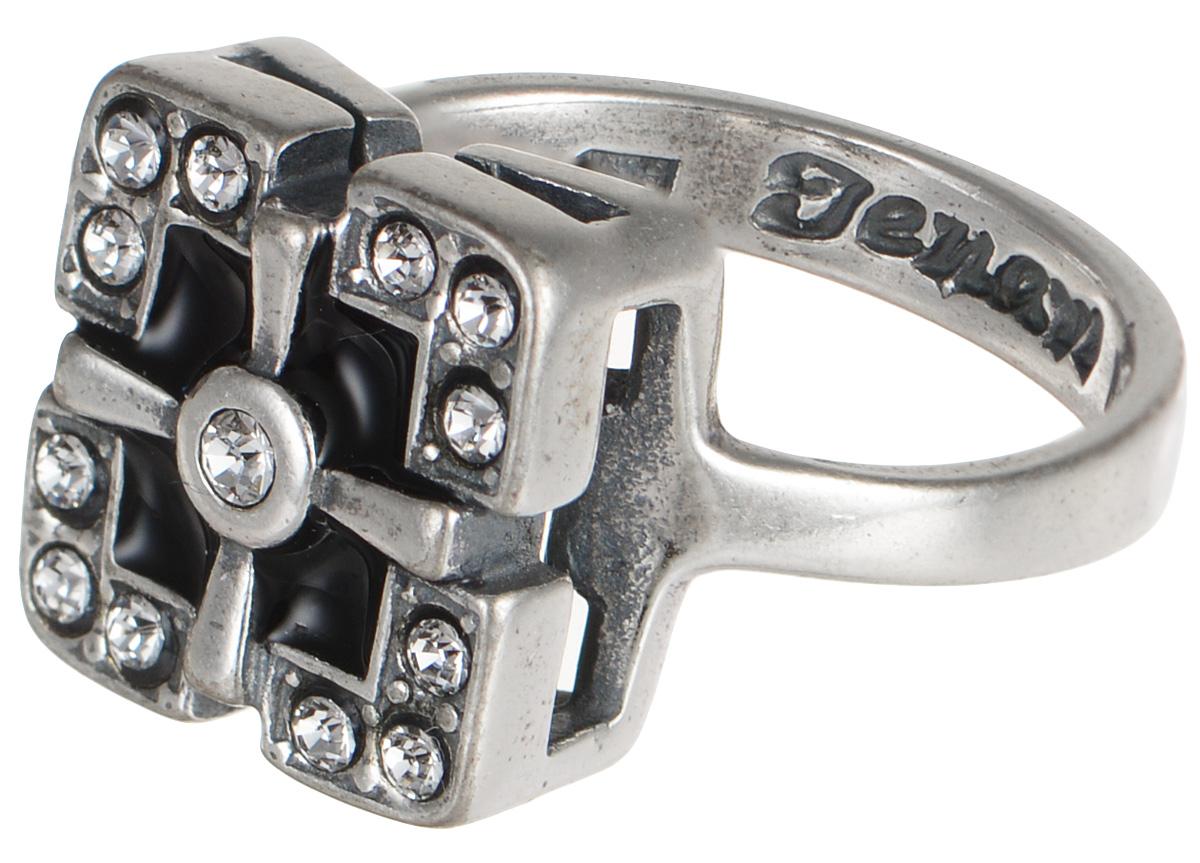 "Кольцо Jenavi ""Эллада. Радамера"", цвет: серебристый. j67930e6. Размер 19"