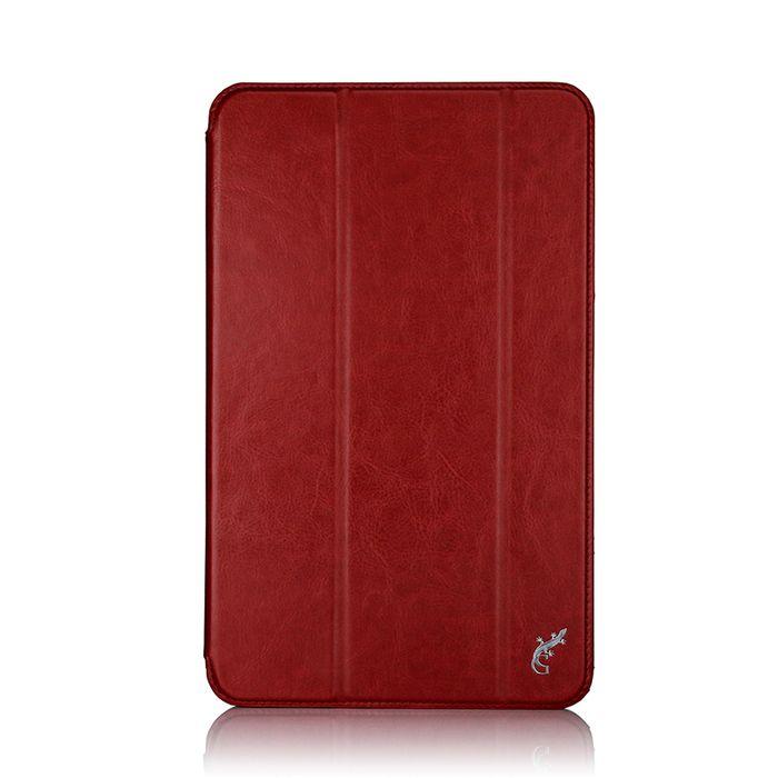 G-case Slim Premium чехол для Samsung Galaxy Tab A 10.1, RedGG-730Чехол G-case Slim Premium для планшета Samsung Galaxy Tab A 10.1 надежно защищает ваше устройство от случайных ударов и царапин, а так же от внешних воздействий, грязи, пыли и брызг. Крышку можно использовать в качестве настольной подставки для вашего устройства. Чехол приятен на ощупь и имеет стильный внешний вид. Он также обеспечивает свободный доступ ко всем функциональным кнопкам планшета и камере.