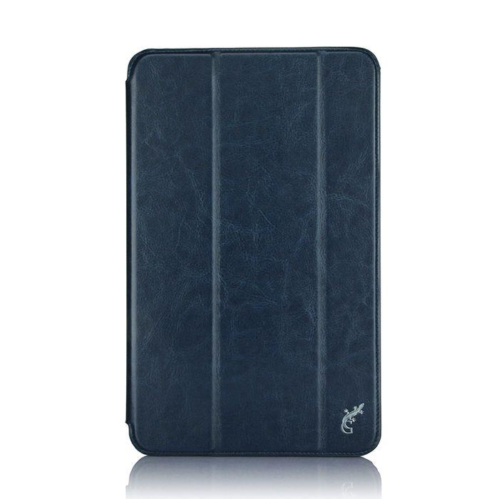 G-case Slim Premium чехол для Samsung Galaxy Tab A 10.1, Dark BlueGG-731Чехол G-case Slim Premium для планшета Samsung Galaxy Tab A 10.1 надежно защищает ваше устройство от случайных ударов и царапин, а так же от внешних воздействий, грязи, пыли и брызг. Крышку можно использовать в качестве настольной подставки для вашего устройства. Чехол приятен на ощупь и имеет стильный внешний вид. Он также обеспечивает свободный доступ ко всем функциональным кнопкам планшета и камере.
