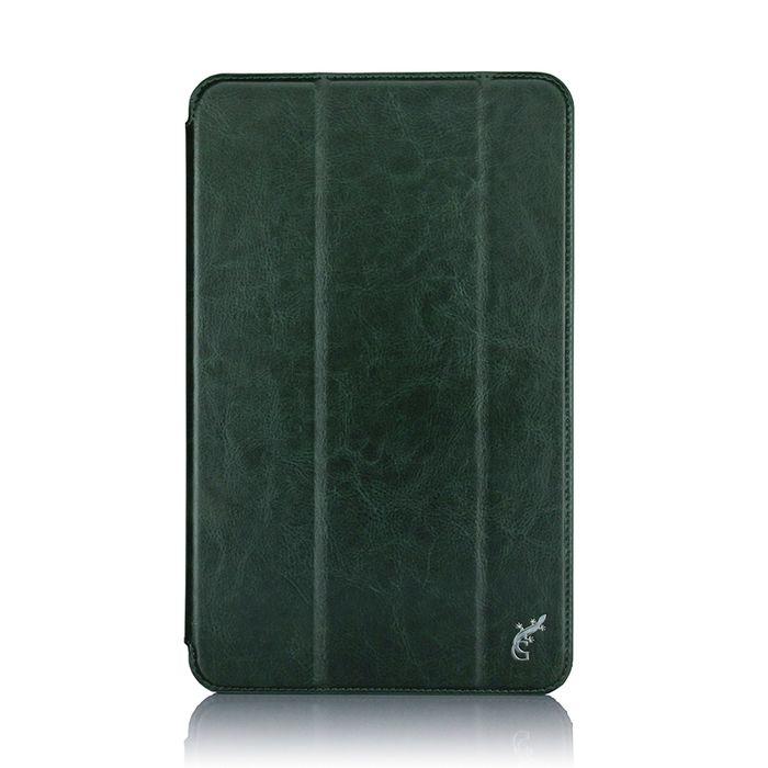 G-case Slim Premium чехол для Samsung Galaxy Tab A 10.1, Dark GreenGG-732Чехол G-case Slim Premium для планшета Samsung Galaxy Tab A 10.1 надежно защищает ваше устройство от случайных ударов и царапин, а так же от внешних воздействий, грязи, пыли и брызг. Крышку можно использовать в качестве настольной подставки для вашего устройства. Чехол приятен на ощупь и имеет стильный внешний вид. Он также обеспечивает свободный доступ ко всем функциональным кнопкам планшета и камере.