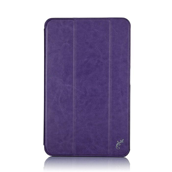 G-case Slim Premium чехол для Samsung Galaxy Tab A 10.1, PurpleGG-733Чехол G-case Slim Premium для планшета Samsung Galaxy Tab A 10.1 надежно защищает ваше устройство от случайных ударов и царапин, а так же от внешних воздействий, грязи, пыли и брызг. Крышку можно использовать в качестве настольной подставки для вашего устройства. Чехол приятен на ощупь и имеет стильный внешний вид. Он также обеспечивает свободный доступ ко всем функциональным кнопкам планшета и камере.