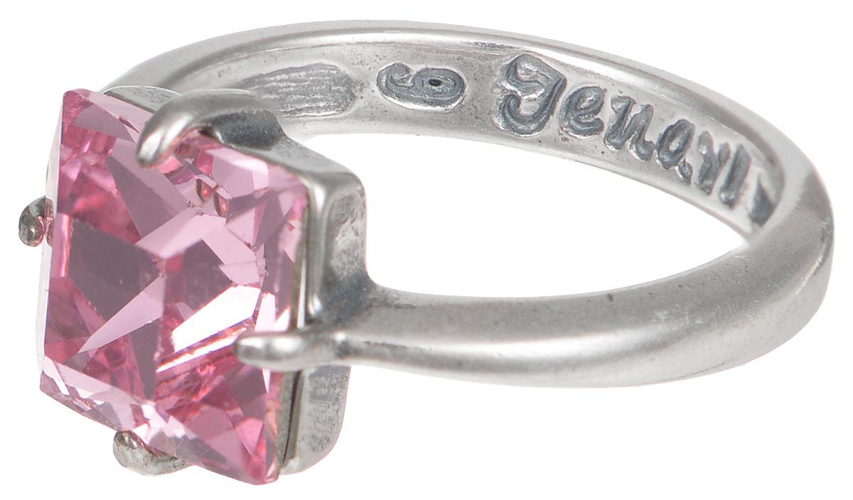 Кольцо Jenavi Циркония. Ларен цвет: серебряный, розовый. r6643010. Размер 16r6643010Элегантное кольцо Jenavi Циркония. Ларен изготовлено из качественного металла с покрытием из черненого серебра. Изделие декорировано кристаллом Swarovski и дополнено тисненой надписью с названием бренда на внутренней стороне. Такое стильное кольцо идеально дополнит ваш образ и подчеркнет вашу индивидуальность.