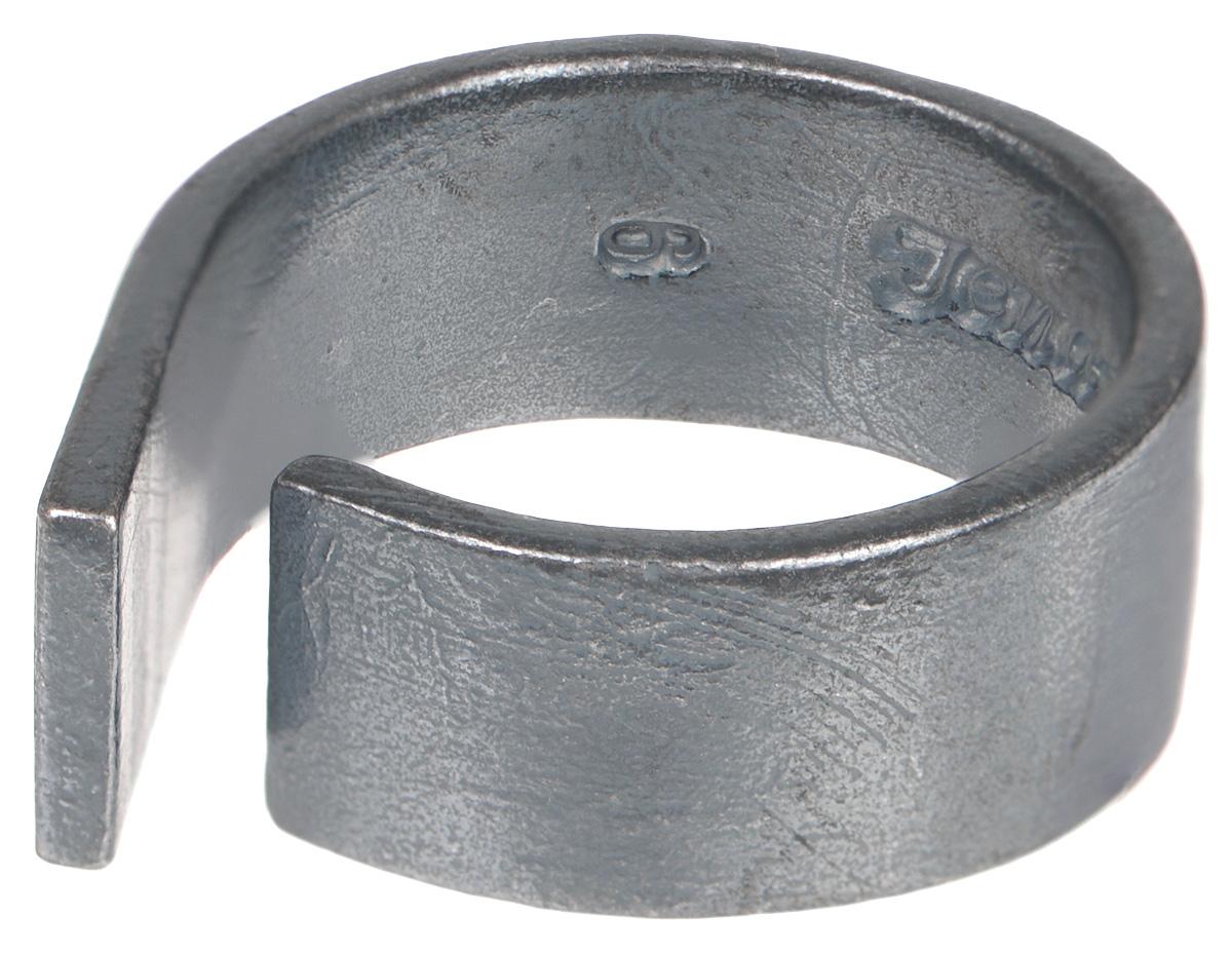 Кольцо Jenavi Mona. Цета, цвет: серый. k483o090. Размер 16k483o090Стильное кольцо от Jenavi Mona. Цета изготовлено из качественного металла с покрытием из черного оксида. Изделие выполнено в оригинальной форме и дополнено тисненой надписью с названием бренда на внутренней стороне. Такое стильное кольцо сделает ваш образ интересным и подчеркнет вашу индивидуальность.