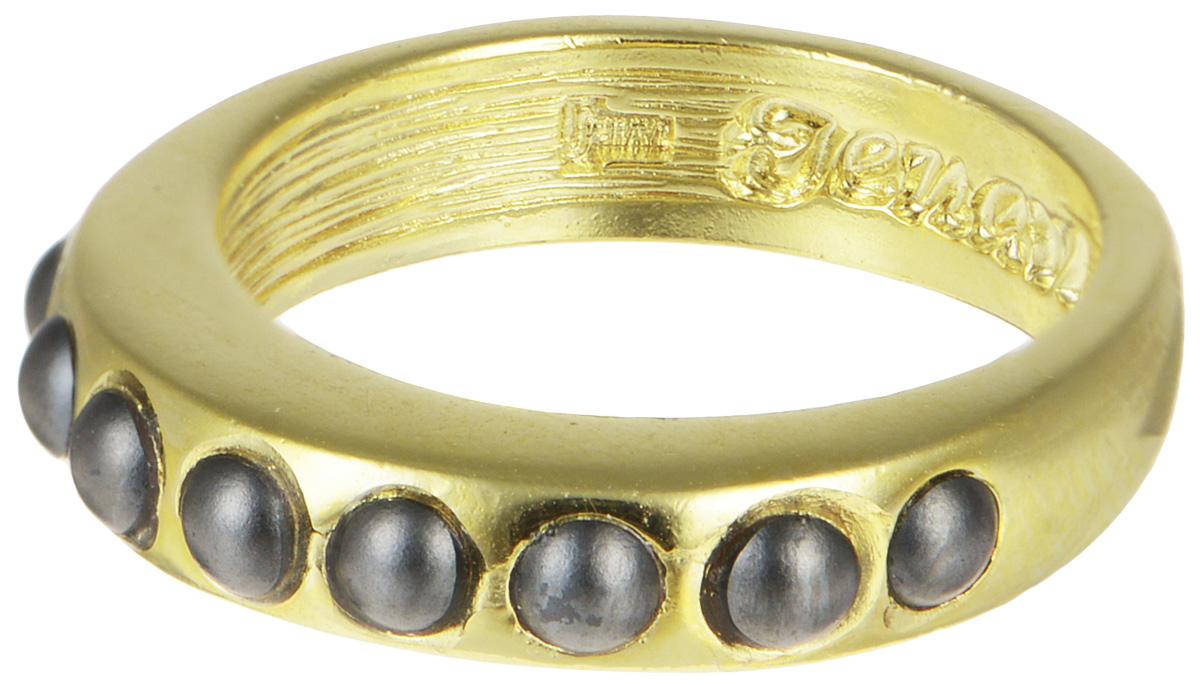 Кольцо Jenavi Тьер, цвет: золотой, серый. j718p060. Размер 16j718p060Оригинальное кольцо от Jenavi Тьер изготовлено из качественного ювелирного сплава золотым покрытием. Кольцо декорировано вставками в виде кристаллов Swarovski. Внутренняя сторона изделия оформлена тисненой надписью с названием бренда. Такое стильное кольцо станет прекрасным аксессуаром, который дополнит ваш образ и поможет создать свой собственный стиль.