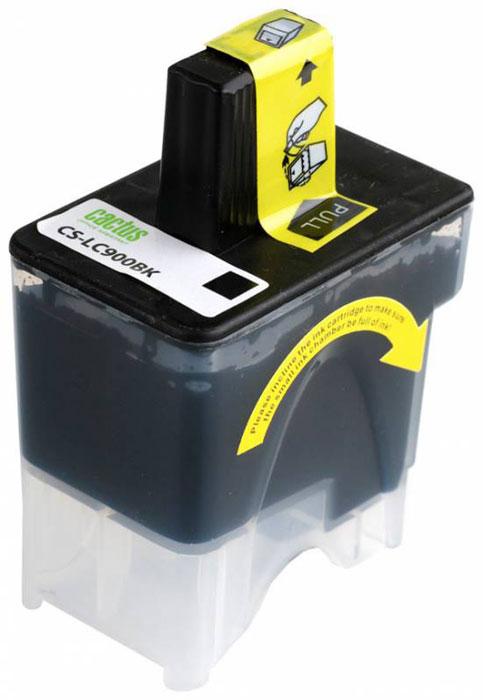 Cactus CS-LC900BK, Black картридж струйный для Brother DCP-110/115/120/MFC-210/215/FAX-1840CS-LC900BKКартридж Cactus CS-LC900BK для струйных принтеров Brother DCP-110/115/120/MFC-210/215/FAX-1840. Расходные материалы Cactus для струйной печати максимизируют характеристики принтера. Обеспечивают повышенную чёткость чёрного текста и плавность переходов оттенков серого цвета и полутонов, позволяют отображать мельчайшие детали изображения. Обеспечивают надежное качество печати.