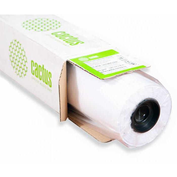 Cactus CS-PM180-91430 914мм/180г/м2 матовая фотобумага для струйной печати (30 м)CS-PM180-91430Бумага является одним из важнейших расходных материалов при печати, а от ее качества зависит конечный отпечаток. Фотобумага Cactus CS-PM180-91430 шириной 914 мм в рулоне 30 м и втулкой 50,8 мм обладает плотностью 180 г/м2, матовым покрытием и гарантирует отличный результат. Подходит для использования в плоттерах и подобных им устройствах.