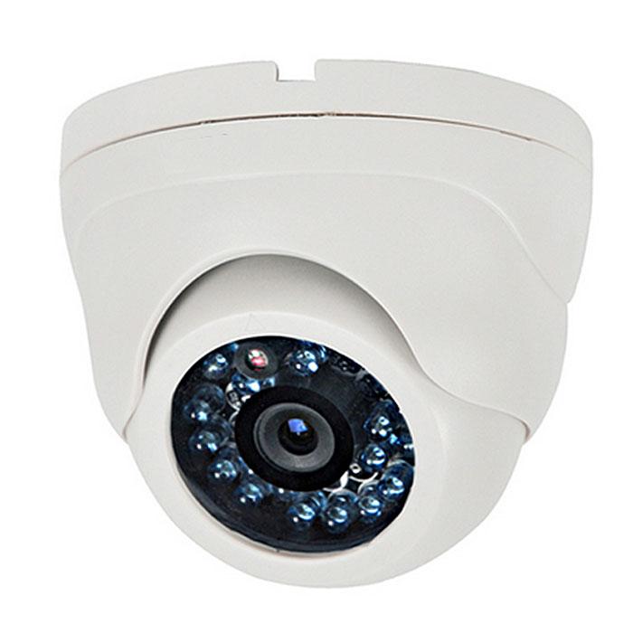 IVUE HDC-ID10F36-20 внутренняя камера видеонаблюденияiVue-HDC-ID10F36-20Внутренняя миниатюрная купольная камера 1.0Mpx, модель IVUE HDC-ID10F36-20, позволяет получать видеоизображение высокой четкости (HD), в любое время суток(ночная подсветка до 20 метров), вести видеонаблюдение внутри помещения с температурным интервалом -20° / +50°, что позволяет использовать ее в неотапливаемых складах . Данная камера позволяет создать систему видеонаблюдения, в комплектации с видеорегистраторами (AHD DVR) модельного ряда AVR-4X725-Н1, AVR-8X725-Н1, AVR-16X725-Н2. Технология AHD, позволяет передавать видеосигнал по обычному коаксиальному кабелю до 500 метров, что позволяет произвести замену старых аналоговых камер и видеорегистраторов, используя уже проложенные линии передачи видеосигнала и питания. Процессор: AR0130+NVP2431H Разрешение: 1280х720 Сигнал/шум: более дБ День/Ночь: авто/баланс белого Длина волны ИК: 850 нм