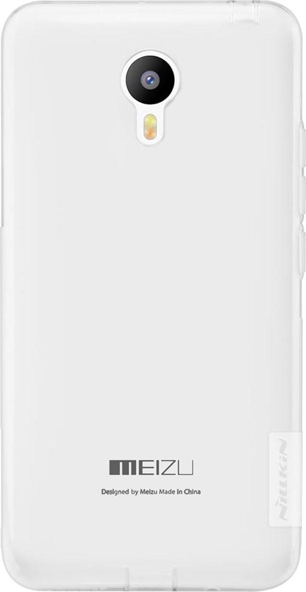 Nillkin Nature TPU Case чехол для Meizu M2 Note, White874004Y0133Накладка Nillkin Nature TPU Case выполнена из высококачественного силикона. Она надежно фиксирует и защищает смартфон при падении. Обеспечивает свободный доступ ко всем разъемам и элементам управления.