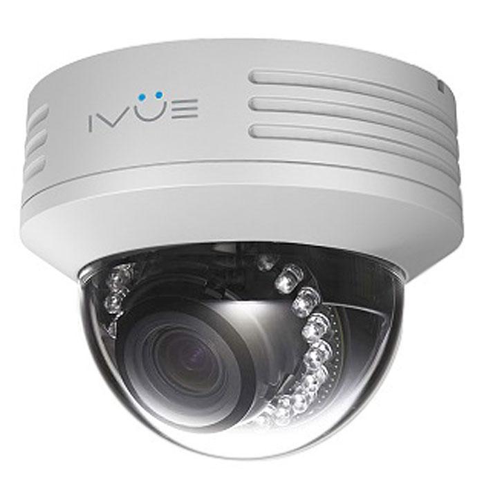 IVUE NV433-P накладная круглая камера видеонаблюденияNV433-PIP камера IVUE NV433-P имеет разрешение 1920х1080, поддерживает функцию PoE (питание через локальную сеть), полная совместимость с браузером Internet Explorer и полная совместимость со всеми мобильными платформами, такими как Apple и Android. Так же камера имеет функции маскировки отдельной области, функция обнаружения движения и тревоги по датчику, стандарт сжатия видео H.264. Интерфейс выхода видео: 1 Vp-р композитный выход (75 ОМ / BNC) Интерфейс входа аудио: 1 канал 3.5 мм аудио интерфейс, вход для микрофона / LINE IN Интерфейс выхода аудио: 1 канал 3.5 мм аудио интерфейс Мобильные приложения: iPhone, iPad, Android Скорость передачи данных: основной поток: 1000-6000 Кб/с, дополнительный поток: 512-2048 Кб/с, мобильный поток: 64-256Кб/с Сжатие аудио: G.711 Двусторонняя связь Уровень защиты: антивандальная