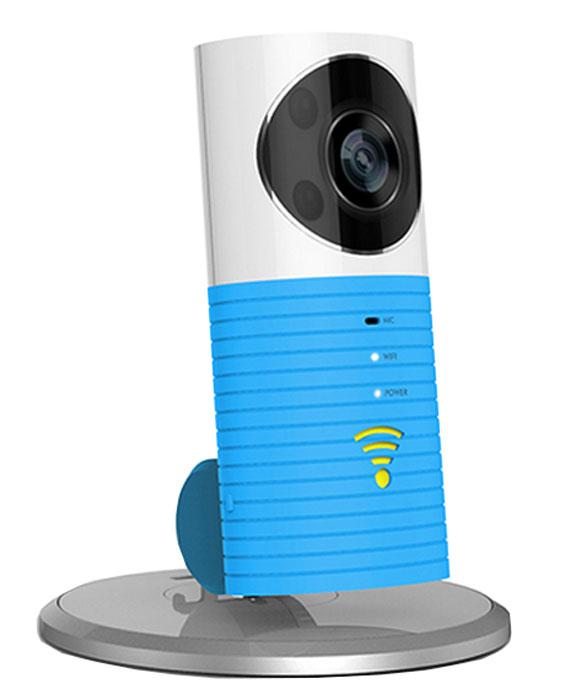 IVUE Dog-1W, Blue камера видеонаблюденияDOG-1W-BLUEУмная беспроводная камера IVUE Dog-1W с детектором движения. Широкое основание дает возможность поворота на 360 градусов. Скучаете по семье? Где бы вы не находились, вы сможете их увидеть. Наблюдайте за вашим магазином, пока вы дома. Опасаетесь проникновения воров? При возникновении движения изображения будут зафиксированы автоматически и будут храниться в облаке. А сигнал тревоги поступит на ваш мобильный телефон. При каждом движении вы получите по 3 снимка. В облаке хранится последние 99 таких случаев, который всегда доступны вам по желанию. Вы можете общаться со своими домашними животными находясь на работе. А так же вы можете делиться лучшими моментами запечатлёнными на камеру, отправляя их вашей семье или друзьям. Изображение высокого разрешения и двухсторонний разговор дает вам возможность приглядывать за вашим магазином пока вы заняты другими делами. Двусторонний разговор: Встроенный чувствительный микрофон и цифровая...