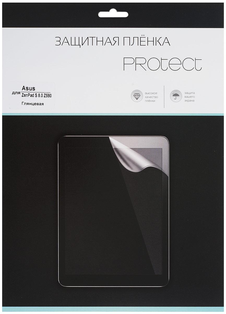 Protect защитная пленка для Asus ZenPad S 8.0 Z580, глянцевая21767Защитная пленка Protect предохранит дисплей Asus ZenPad S 8.0 Z580 от пыли, царапин, потертостей и сколов. Пленка обладает повышенной стойкостью к механическим воздействиям, оставаясь при этом полностью прозрачной. Она практически незаметна на экране гаджета и сохраняет все характеристики цветопередачи и чувствительности сенсора.