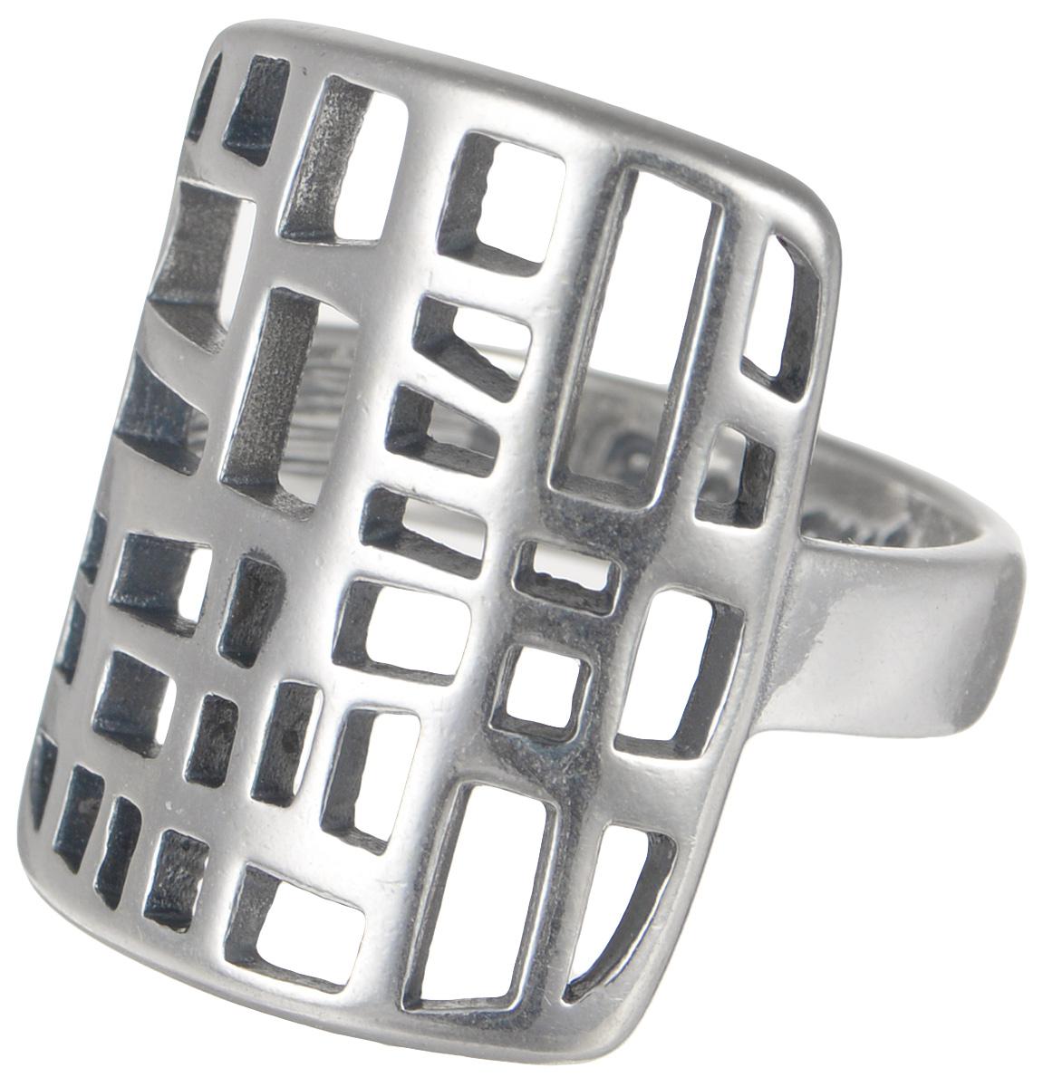 Кольцо Jenavi Витраж. Портинда, цвет: серебряный. k4283090. Размер 16k4283090Элегантное кольцо Jenavi Витраж. Портинда изготовлено из качественного металла с покрытием из черненого серебра. Декоративная часть изделия выполнена в оригинальном дизайне. Внутренняя сторона изделия дополнена гравировкой в виде названия бренда. Такое стильное кольцо идеально дополнит ваш образ и подчеркнет вашу индивидуальность.