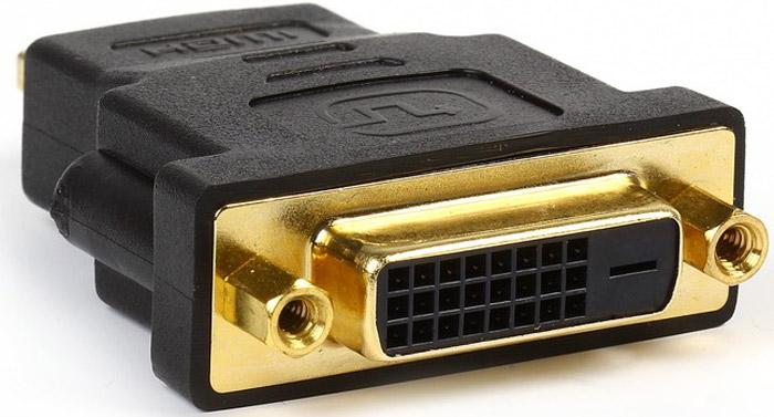 Smartbuy A121 HDMI (M) - DVI (F) адаптерA121Адаптер SmartBuy A121 предназначен для подключения монитора с HDMI-разъемом к видеокарте, имеющей DVI-разъем.