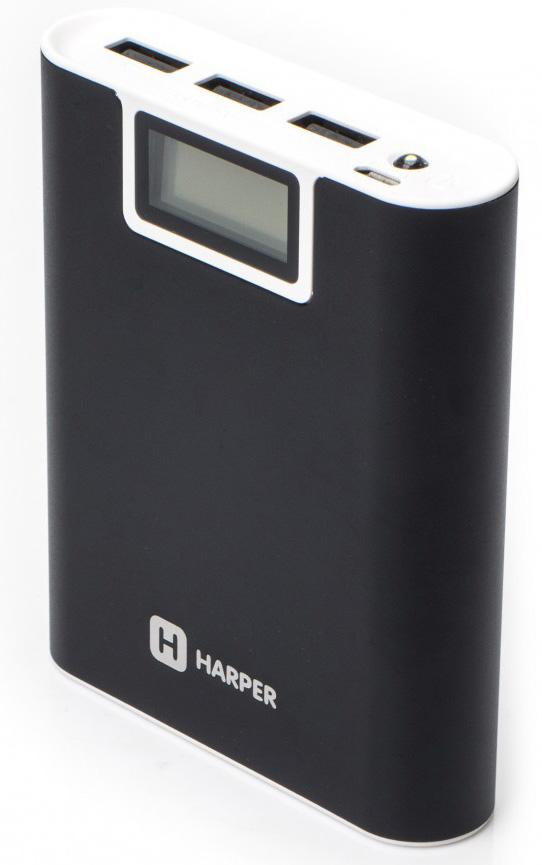 Harper PB-2010, Black внешний аккумуляторH00001057Harper PB-2010- это мобильный внешний аккумулятор, который способен в полной мере, быстро и качественно, обеспечить зарядку Вашего цифрового устройства.