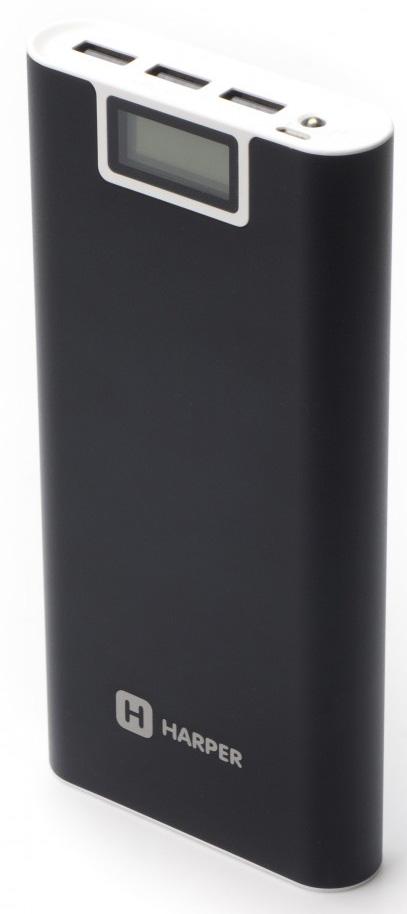 Harper PB-2016, Black внешний аккумулятор