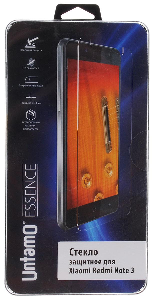 Untamo Essence защитное стекло для Xiaomi Redmi Note 3, прозрачное untamo essence hc02l автомобильный держатель для смартфонов 3 5 6 3