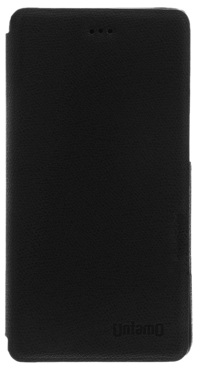Untamo Essence чехол для Xiaomi Mi4i/4c, BlackUESBXIAMI4IBLЧехол-книжка Untamo для Xiaomi Mi4i/4c - это сочетание стильного дизайна и отличных защитных свойств. Каркас чехла изготовлен из эко-кожи высокого качества с мягкой внутренней поверхностью. Чехол-книжка способен защитить смартфон от разных типов воздействий, поэтому на корпусе и экране устройства не будет царапин, трещин, сколов и потертостей. Имеется свободный доступ ко всем кнопкам и разъемам устройства.