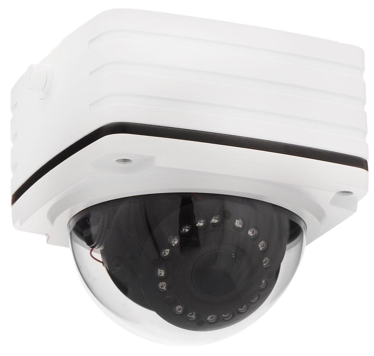IVUE NV-431-P накладная квадратная камера видеонаблюденияNV-431-PIP камера IVUE NV-431-P имеет разрешение 1920 х 1080, поддерживает функцию PoE (питание через локальную сеть), а также полную совместимость с браузером Internet Explorer и со всеми мобильными платформами, такими как Apple и Android. Так же камера имеет функции маскировки отдельной области, функция обнаружения движения и тревоги по датчику, стандарт сжатия видео H.264.