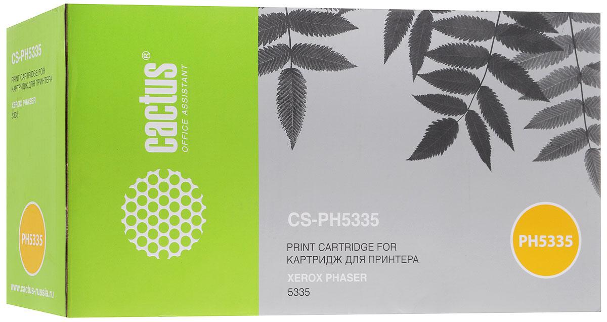 Cactus CS-PH5335 113R00737, Black тонер-картридж для Xerox Phaser 5335CS-PH5335Картридж Cactus CS-PH5335 113R00737 для лазерных принтера Xerox Phaser 5335. Расходные материалы Cactus для лазерной печати максимизируют характеристики принтера. Обеспечивают повышенную чёткость чёрного текста и плавность переходов оттенков серого цвета и полутонов, позволяют отображать мельчайшие детали изображения. Обеспечивают надежное качество печати.