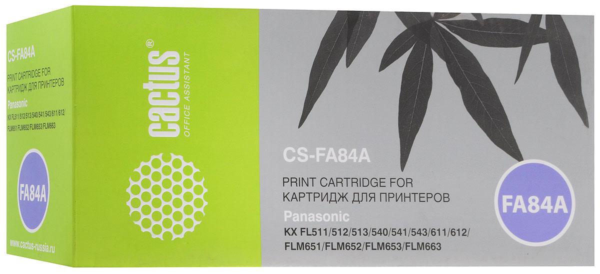Cactus CS-FA84A фотобарабан для Panasonic KX-FL513RUCS-FA84AФотобарабан Cactus CS-FA84A для KX-FL513RU отличается качеством изготовления, большим ресурсом печати и износоустойчивоостью. Предназначен для больших объёмов печати, поэтому идеально подойдет для использования дома и в офисе. Подходит для лазерных принтеров Panasonic KX-FL513RU.