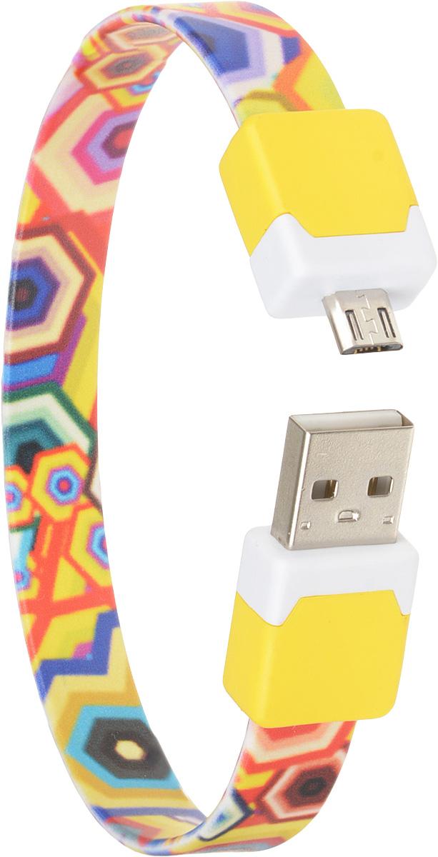 DVTech CB135 multicolor, Yellow кабель USB-micro USB 2.0 25 см
