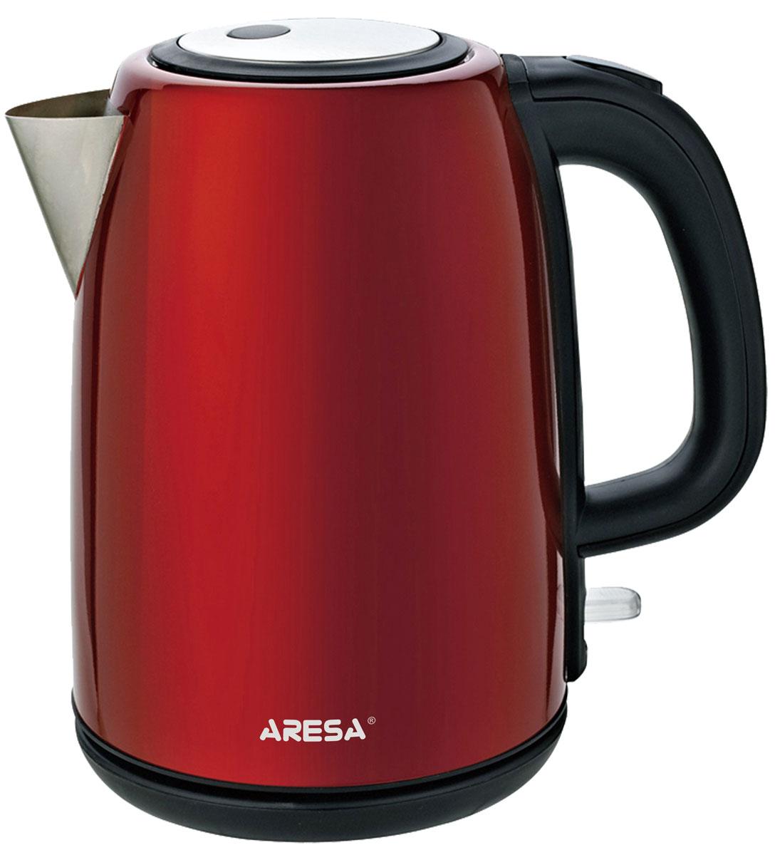 Aresa AR-3415 чайник электрическийAR-3415Электрический чайник Aresa AR-3415 мощностью 2000 Вт и объемом 1,7 литра отвечает всем современным требованиям надежности и безопасности. При его производстве используются только высококачественные и экологически безопасные материалы, а также нагревательный элемент и контроллеры высокого класса надежности. Устройство будет служить вам долгие годы, наполняя ваш быт комфортом!