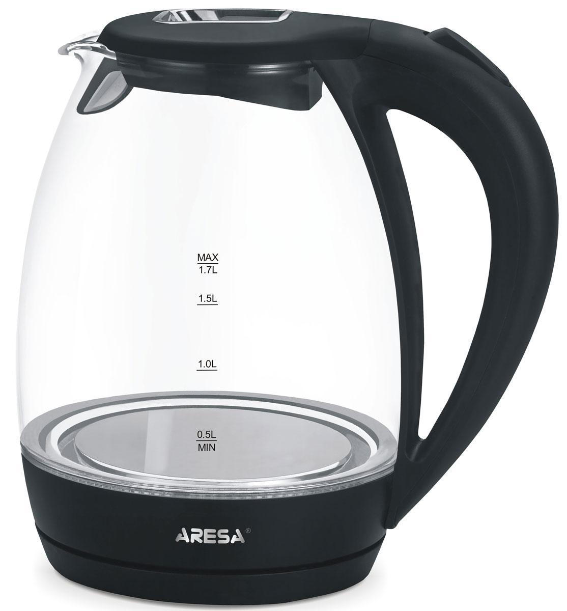 Aresa AR-3426 чайник электрическийAR-3426Электрический чайник Arsea AR-3426 мощностью 2000 Вт и объемом 1,7 литра отвечает всем современным требованиям надежности и безопасности. При его производстве используются только высококачественные и экологически безопасные материалы, а также нагревательный элемент и контроллеры высокого класса надежности. Устройство будет служить вам долгие годы, наполняя ваш быт комфортом!
