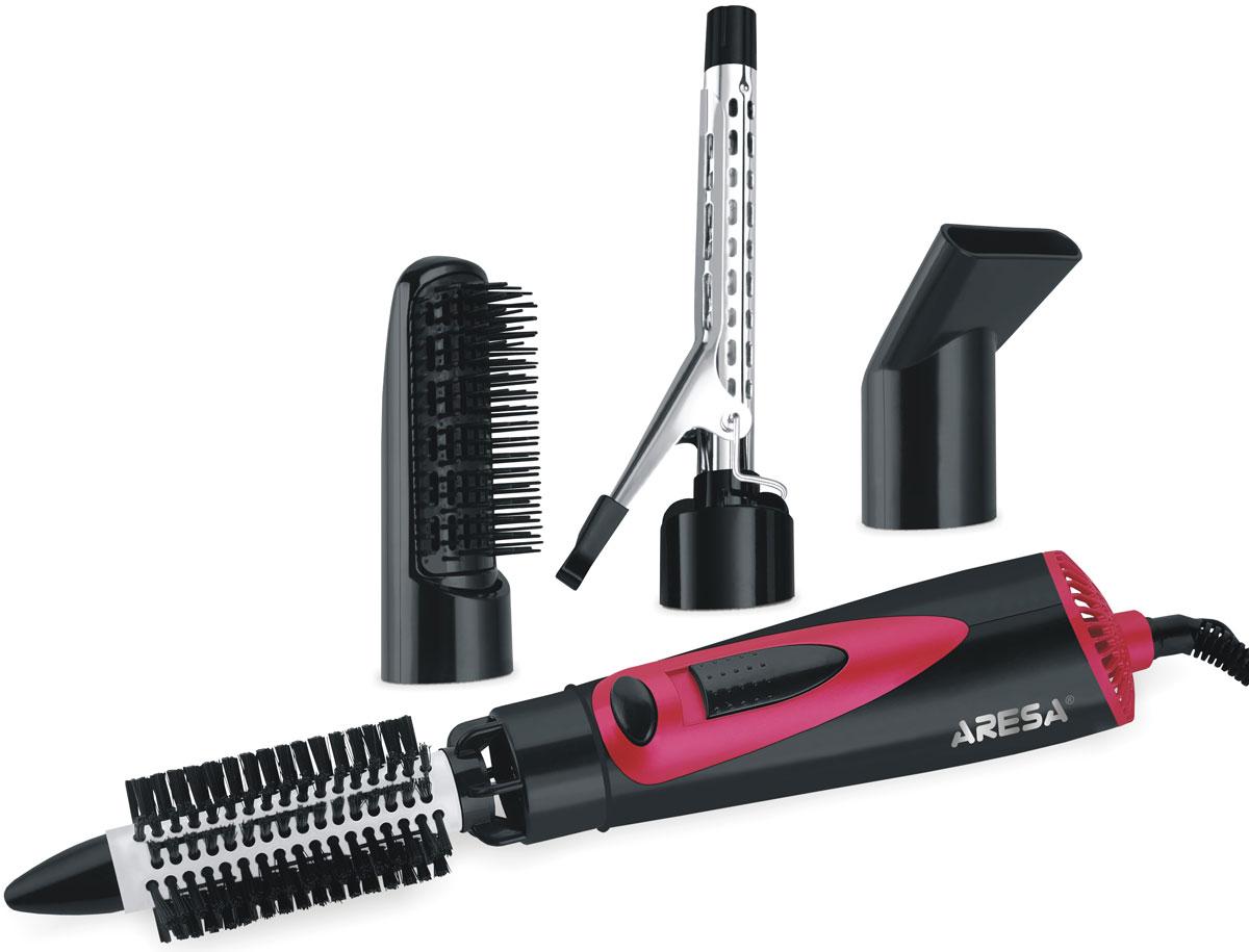 Aresa AR-3208 фен-расческаAR-3208Компактный многофункциональный фен-расческа Aresa AR-3208 с тремя режимами нагрева воздушного потока подойдет как для неторопливой сушки, так и для интенсивной укладки волос.