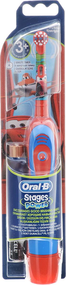 Braun Oral-B Stages Power DB4.510K Тачки детская электрическая зубная щеткаDB4010(DB4.510)Детская электрическая зубная щетка Braun DB4010 (DB4.510) обладает очень мягкими, расщепленными на концах щетинками, которые гарантируют очень бережную чистку зубов ребенка, а также массаж его нежных десен. Индикатор заряда батареи: Детская электрическая зубная щетка Braun DB4010 (DB4.510) оснащена удобным световым индикатором заряда батареи. Таким образом, вы всегда будете знать, когда нужно поставить прибор на подзарядку. Специальный дизайн: Детская электрическая зубная щетка Braun DB4010 (DB4.510) выполнена в специальном красочном дизайне, который невероятно привлекателен для каждого современного ребенка.