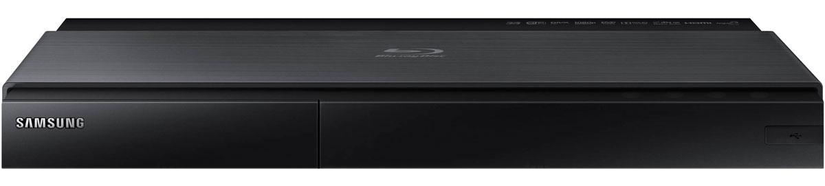 Samsung BD-J7500, Black Blu-ray плеерBD-J7500/RUBlu-ray проигрыватель Samsung BD-J7500 теперь представлен в новом дизайне, гармонирующим с новыми Smart телевизорами Samsung. Сочетание двух цветовых тонов тонкого стильного черного корпуса в минималистичном дизайне с темной титановой отделкой превращает видеопроигрыватель в предмет декора вашего дома. Превосходная передача мельчайших деталей превращает изображение в настоящую реальность. Проигрыватель преобразует Full HD изображение в сверхчеткое изображение формата Ultra HD, что в четыре раза превышает разрешение формата Full HD. Теперь вы можете наслаждаться кристально-чистой картинкой каждый день. Теперь вы имеете доступ к неисчерпаемой библиотеке интересного контента на ресурсе Smart Hub. Blu-ray проигрыватель Samsung открывает вам доступ к огромной библиотеке контента для Smart телевизоров. Оцените удовольствие от использования сотен приложений, включая такие популярные приложения, как Facebook, YouTube и Netflix. Smart Hub - это ключ в мир...