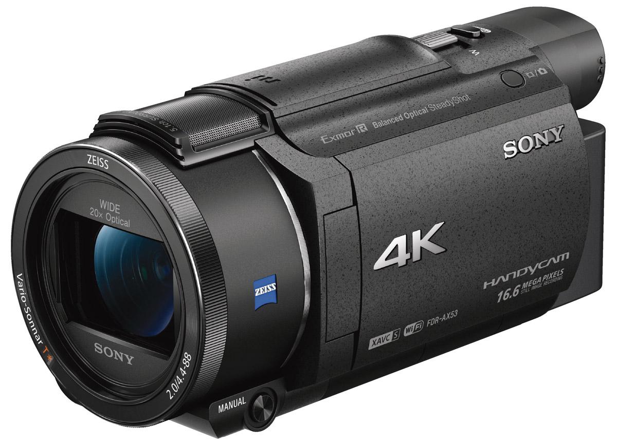 Sony FDR-AX33 4K цифровая видеокамера