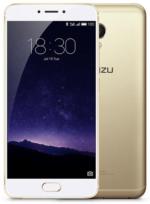 Meizu MX6, Gold WhiteMZU-M685H-32-GOWHКДвухсимочный смартфон Meizu MX6 на базе Android 6 c фирменной 64-битной оболочкой Flyme 5 обладает 5.5 сенсорным IPS-экраном от Sharp с разрешением Full HD 1920х1080 точек. За производительность смартфона отвечает центральный 10-ядерный процессор Helio X20 и графический процессор ARM Mali-T880. Смартфон оснащен 12 Мпикс камерой с 6-элементной линзой, панорамным объективом и двухцветовой вспышкой. Качественный 5,5-дюймовый экран в Meizu MX6 обладает уникальной, натуральной цветопередачей. Технология Sharp TDDI значительно улучшила чувствительность сенсорного экрана. Гладкий металлический корпус, изготовленный с применением технологии 3D нано-литья, точно встроенная антенная и рамки минимальной толщины. Смартфон MX6 – первый смартфон в линейке MX-устройств, в котором используется 10-ядерный процессор Cortex- A72, гарантирующий высокую производительность и скорость обработки данных. В модели 4 ГБ оперативной памяти, что позволяет пользователям...