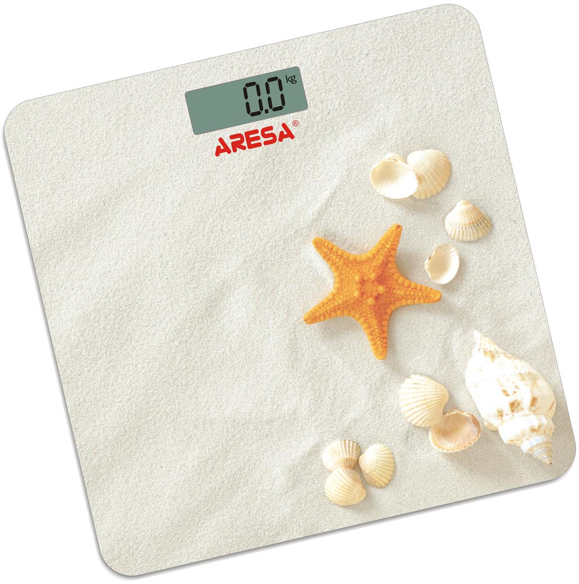 Aresa SB-305 напольные весыSB-305Напольные электронные весы Aresa SB-305 - неотъемлемый атрибут здорового образа жизни. Они необходимы тем, кто следит за своим здоровьем, весом, ведет активный образ жизни, занимается спортом и фитнесом. Очень удобны для будущих мам, постоянно контролирующих прибавку в весе, также рекомендуются родителям, внимательно следящим за весом своих детей. Минимальная нагрузка: 2,5 кг