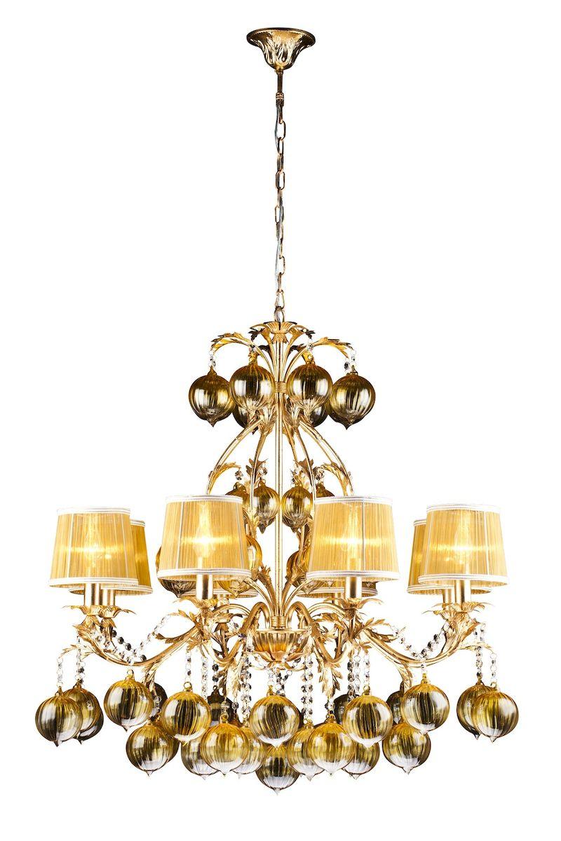 Светильник подвесной Arte Lamp MONARCH A1199LM-8GOA1199LM-8GO