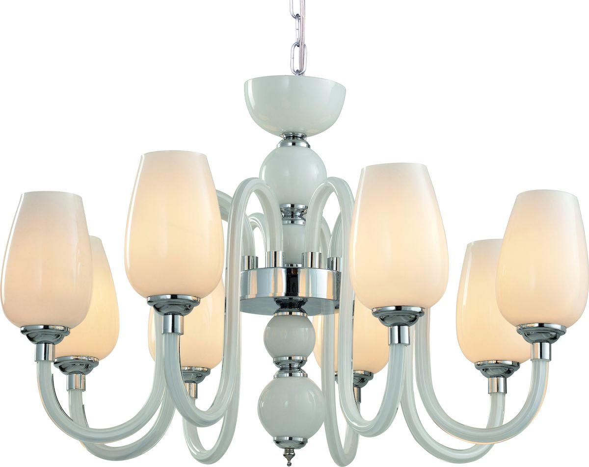 Светильник подвесной Arte Lamp LAVINIA A1404LM-8WHA1404LM-8WH